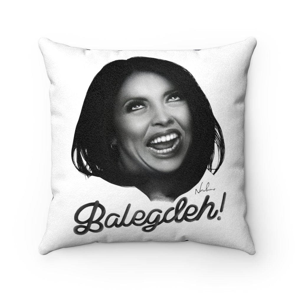 Balegdeh! - Faux Suede Square Pillow