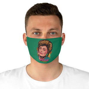 Flirting Is Part Of My Heritage! - Fabric Face Mask