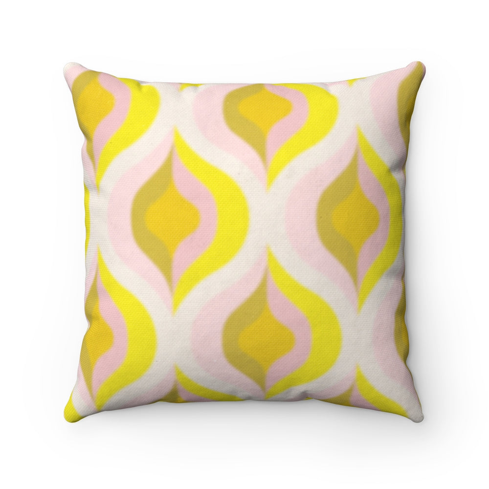 GOLDIE HAWNBAG - Spun Polyester Square Pillow 16x16""