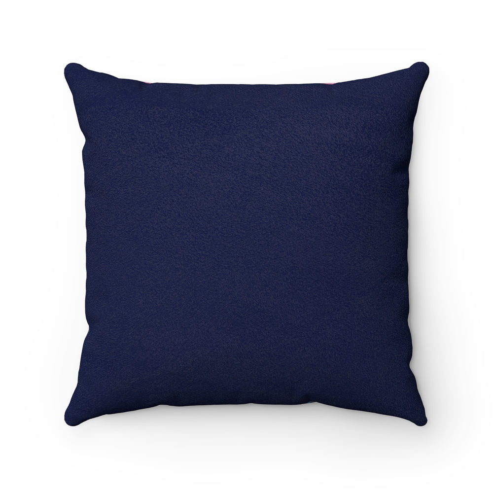 Oops! - Faux Suede Square Pillow