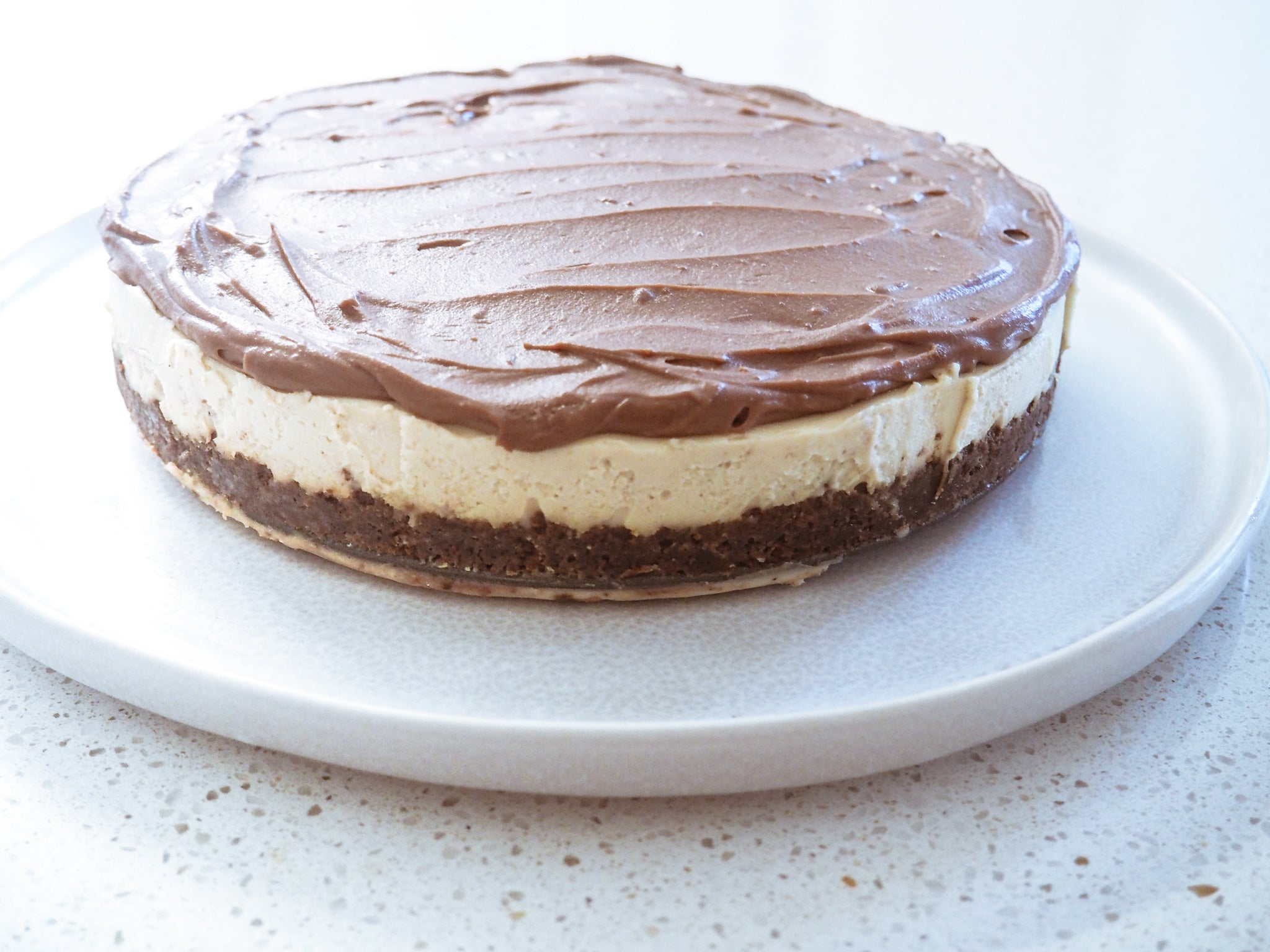 COOKIES'N NO CREAM CHEESECAKE