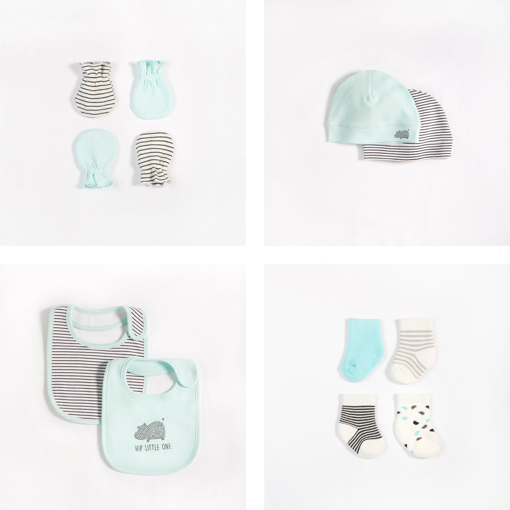 Ensemble cadeau d'essentiels « Happy Hippo »  (14 pcs.)