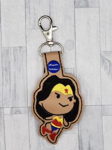 Wonder Girl Keychain