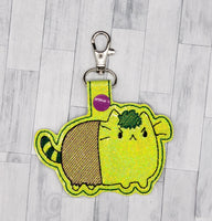 Strong Kitty Keychain