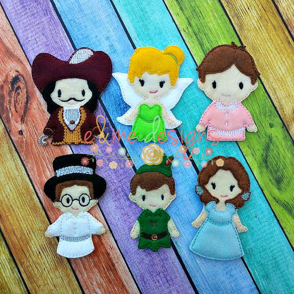 Pan and Friends Finger Puppets