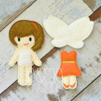 Fawnie Felt Non Paper Doll Outfit