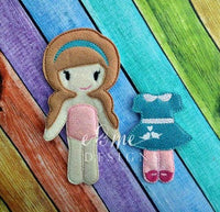 Lily Felt Non Paper Doll Outfit