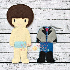 Henry Felt Non Paper Doll Outfit