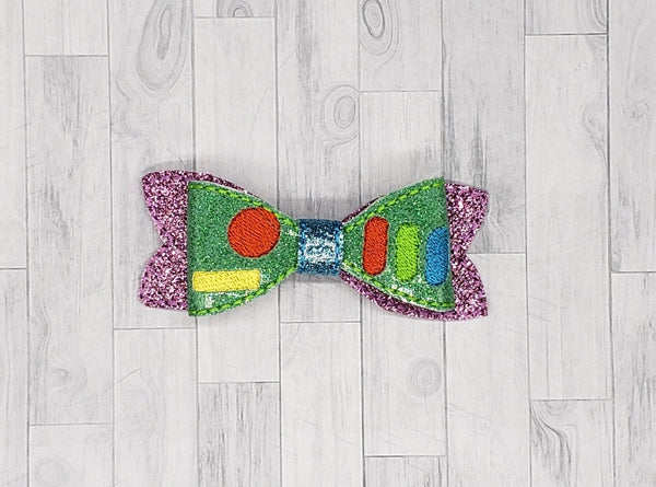 Space Ranger Hair Bow