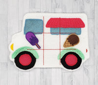 Ice Cream Truck felt tic tac toe set
