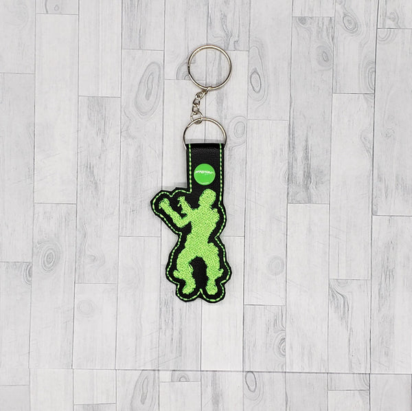 Reanimated Dance Keychain