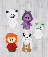 Snow People Felt Finger Puppet