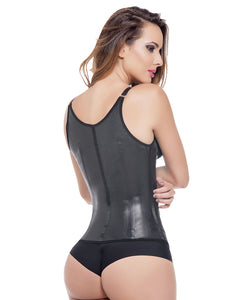 Black Latex Vest