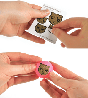 Smoochies Catnip Stickers