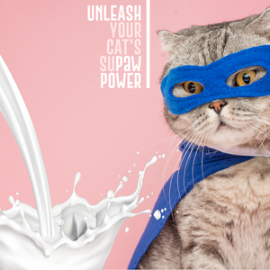 Paw Power(d) Goat Milk Supplement For Cats.