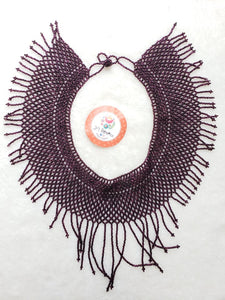 Chaquira Necklace Artesanal