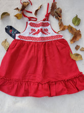 Load image into Gallery viewer, Pajaritos baby dress