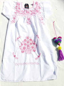 Niñas Dress Poblano