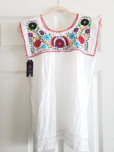 La Fiesta Sleeveless top