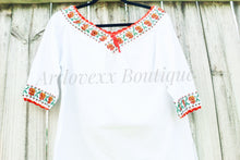 Load image into Gallery viewer, Chaquira 3/4 Sleeve Blouse