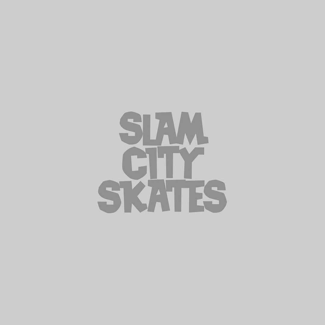 Slam City Skates Classic logo T-Shirt Black / White