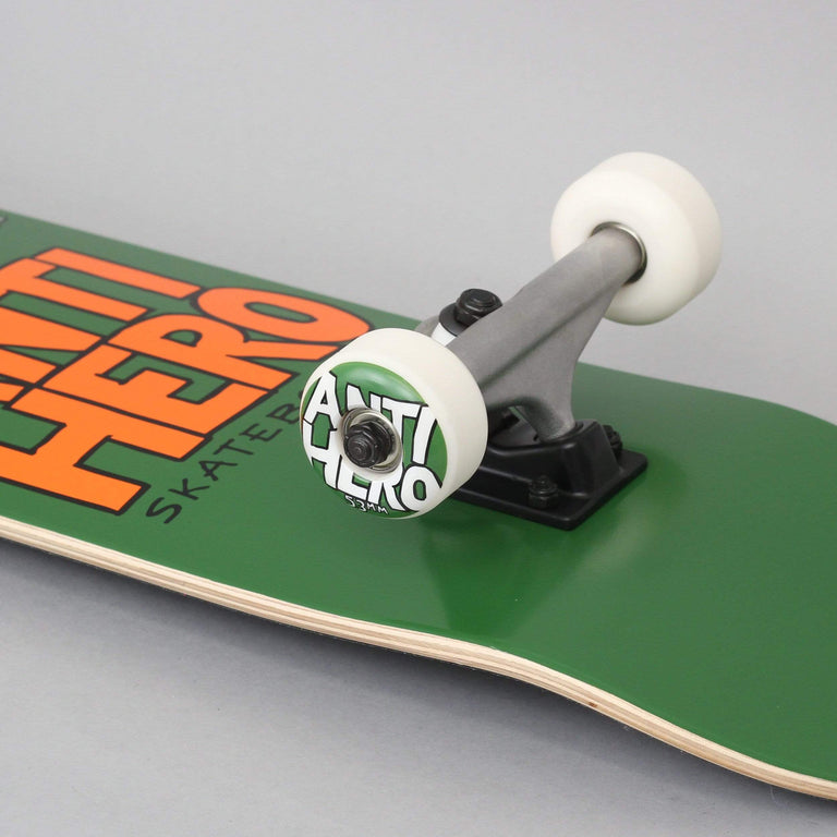 Anti Hero 7.75 Pigeon Hero Complete Skateboard Green