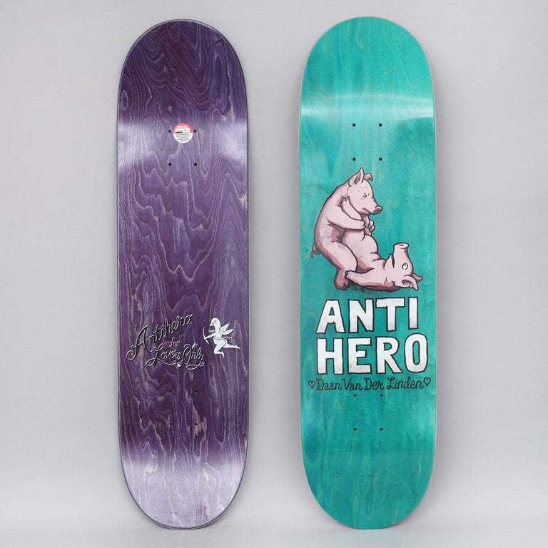 Anti Hero 8.38 Daan Lovers II Skateboard Deck