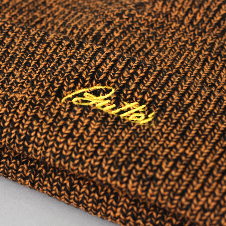 Butter Goods Speckle Beanie Brown / Orange