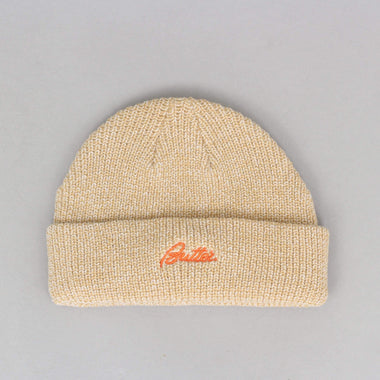 Butter Goods Speckle Beanie Oatmeal / White