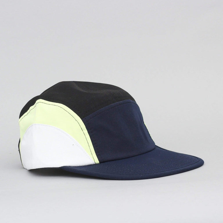 Butter Goods Crescent Camp Cap Navy / Lime / White