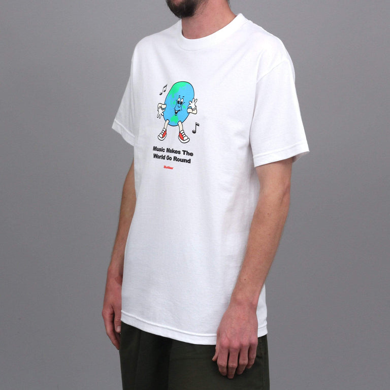 Butter Goods Go Round T-Shirt White