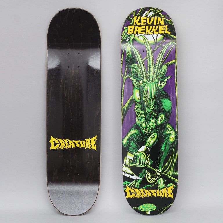 Creature 8.6 Baekkel Swamp Lurker Skateboard Deck Green
