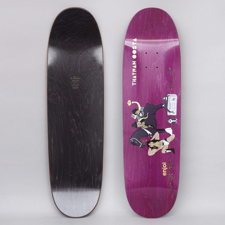 Enjoi 8.75 Costa Over Board R7 Skateboard Deck Purple