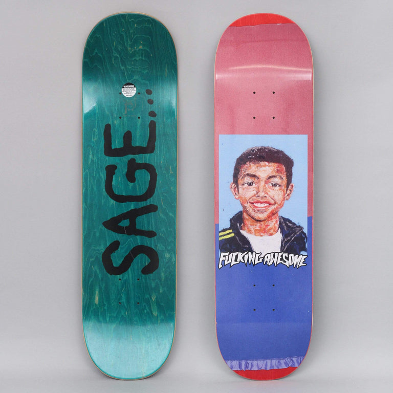 Fucking Awesome 8.38 Sage Felt Class Photo Skateboard Deck
