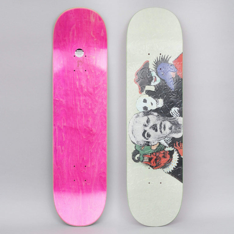 Fucking Awesome 8 Bad Influence Slick Skateboard Deck Light Green