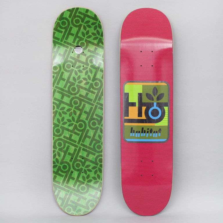 Habitat 7.875 Mod Pod Skateboard Deck Red