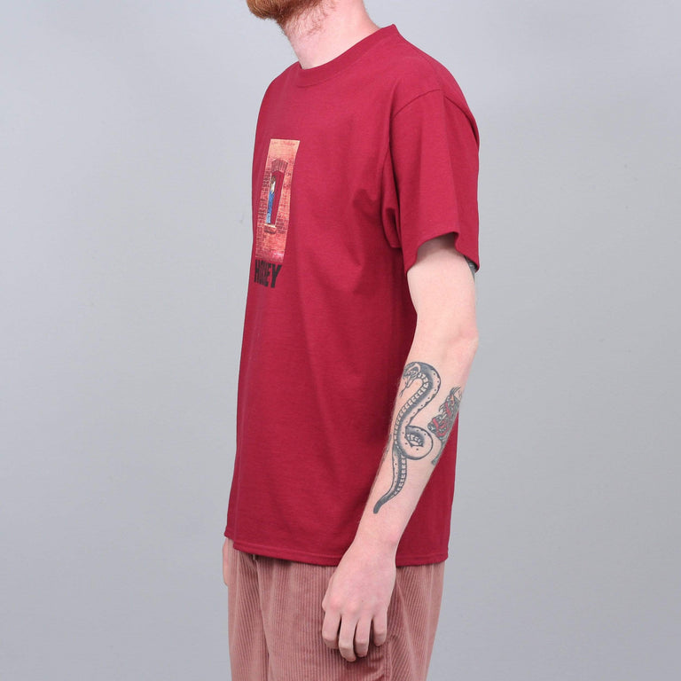 Hockey Behind Bars T-Shirt Red