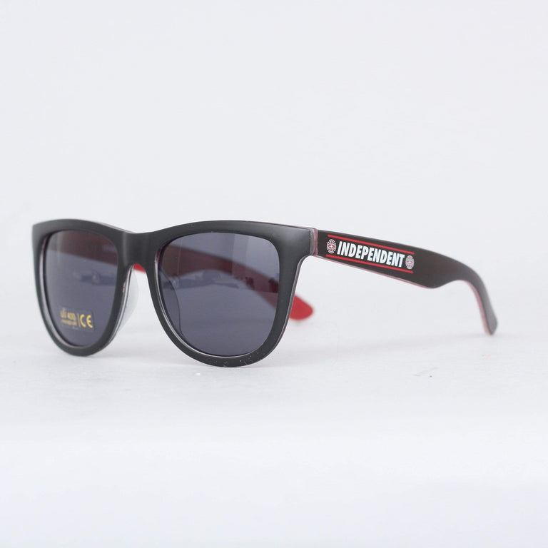 Independent Shear Sunglasses Black / Red