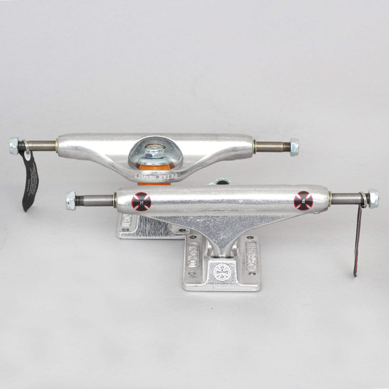 Independent 144 Stage 11 Peter Hewitt Pro Standard Skateboard Trucks Silver (Pair)