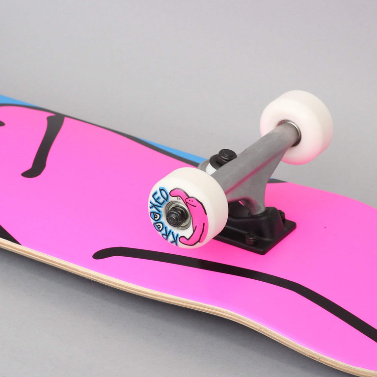 Krooked 8 Team Shmoo Complete Skateboard Pink