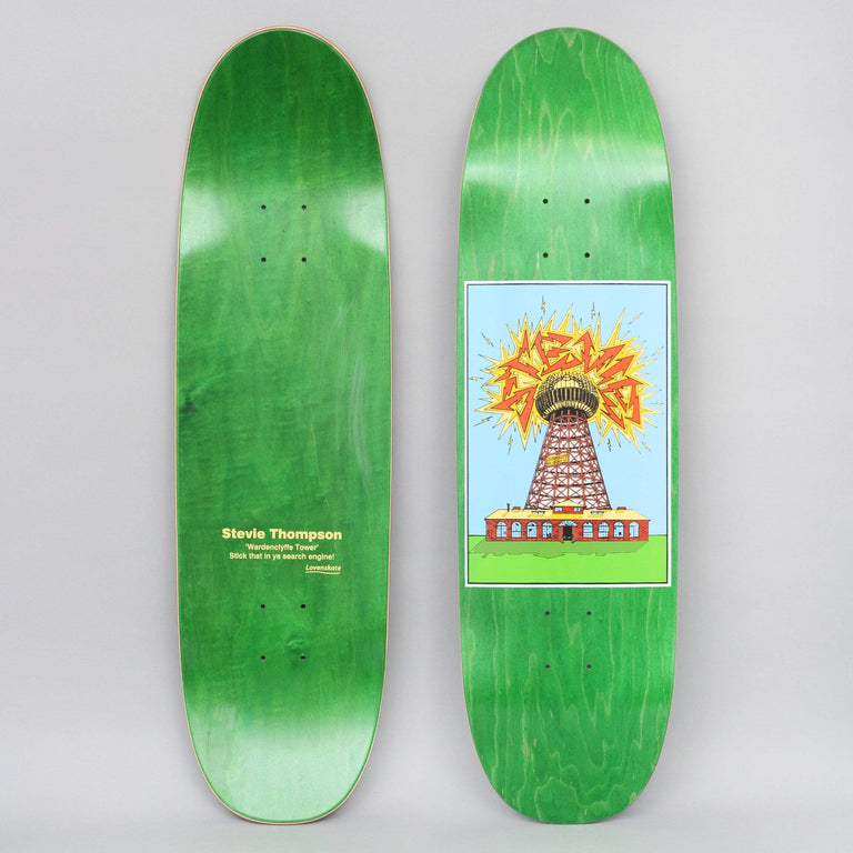 Lovenskate 8.75 Free Energy Stevie Thompson Guest Skateboard Deck Green
