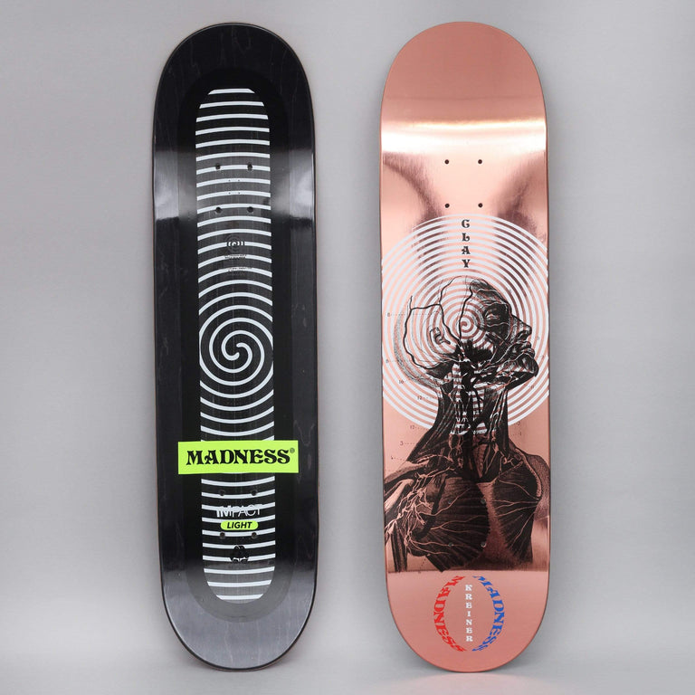 Madness 8.25 Clay Inside Out Impact Light Skateboard Deck