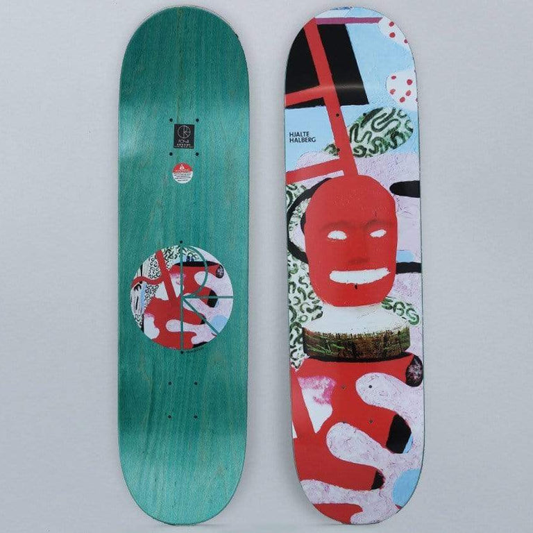 Polar 8 Hjalte Halberg Broken Ladder Skateboard Deck