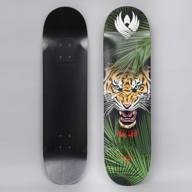 Powell Peralta 8.25 Brad McClain Tiger Shape 243 Flight Skateboard Deck