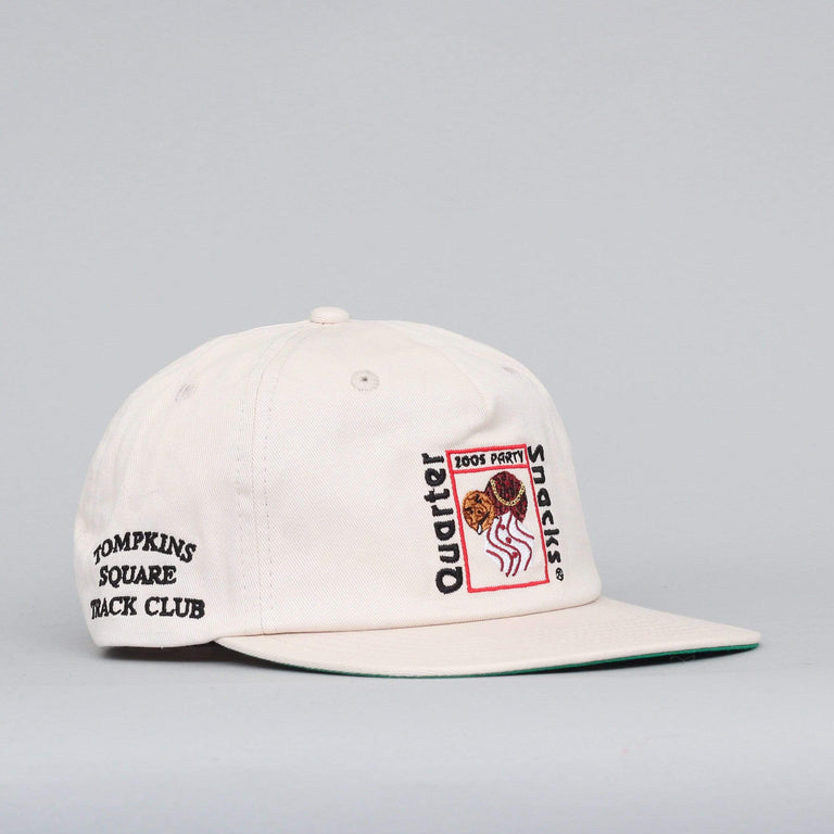 Quartersnacks Party Cap Off White