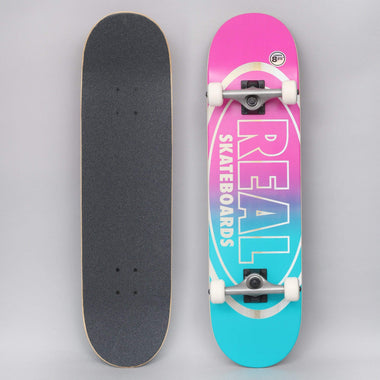 Real Flowers Renewal Skateboard complet Turquoise 8,25
