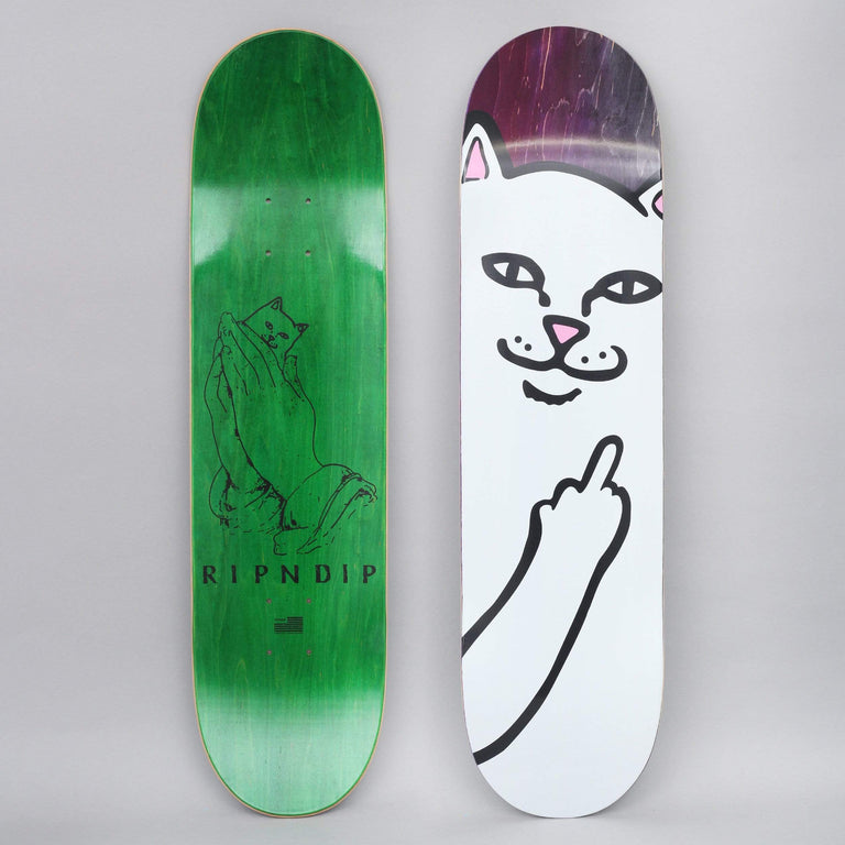 RIPNDIP 8 Lord Nermal Skateboard Deck Purple / Black