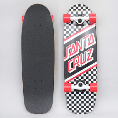 Santa Cruz 8.79 Street Skate Complete Skateboard Black / White / Red