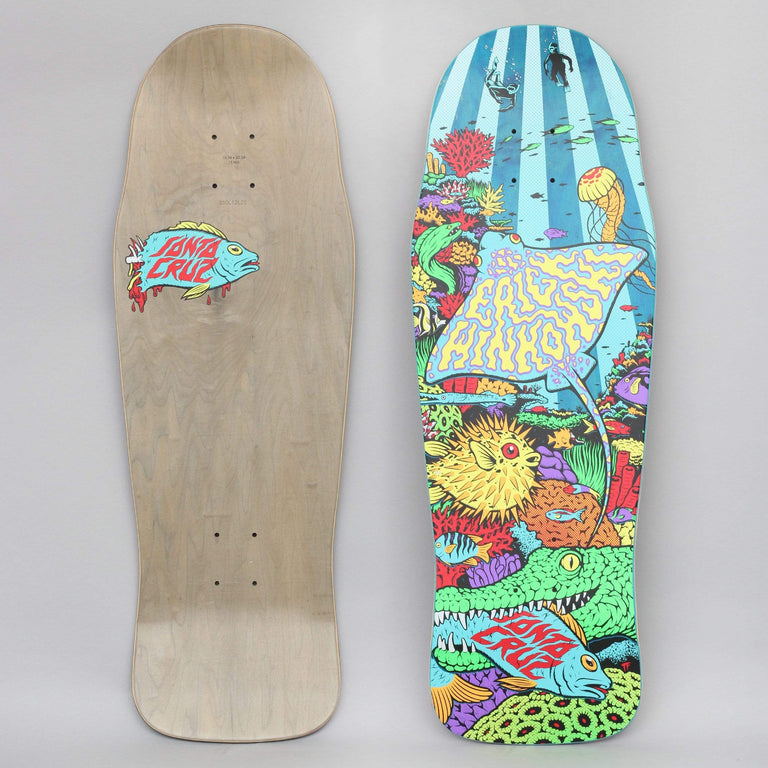 Santa Cruz 10.34 Winkowski Aquatic Power Ply Skateboard Deck