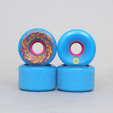 Santa Cruz 60mm 78A Slime Balls OG Slime Wheels Blue / Pink